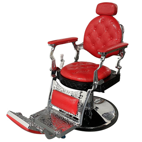 31917-1 Barber Chair SSW RED