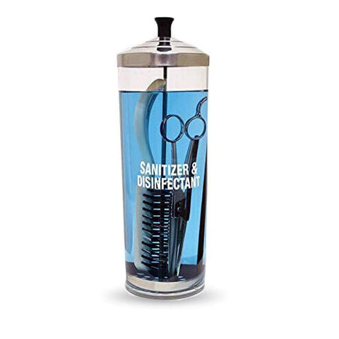 Acrylic Sanitizing Jar | 42oz | SC-550 PERSONAL CARE SCALPMASTER