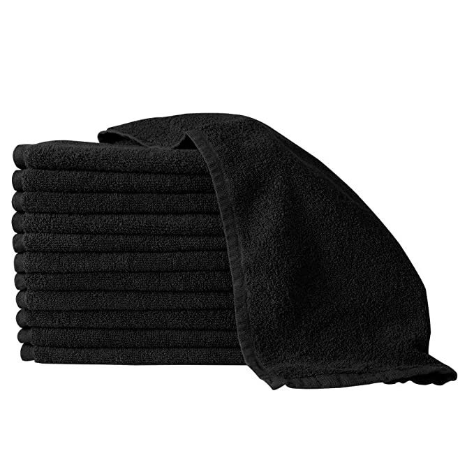 Bleach Guard Royale Towels | 12-PACK | 16 x 29 inch PERSONAL CARE PARTEX BLACK