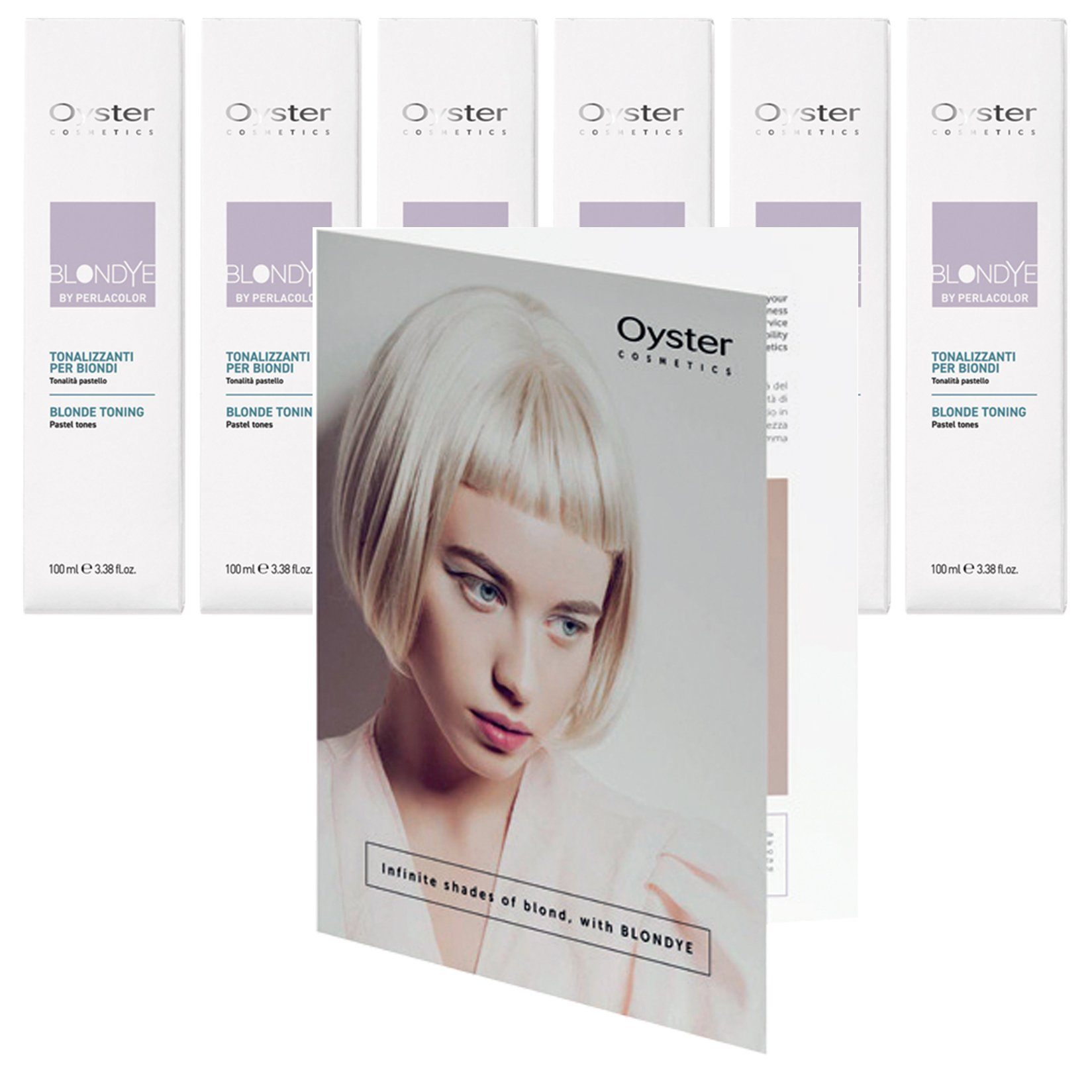Blondye Special HAIR COLOR OYSTER with Blondye Color Book