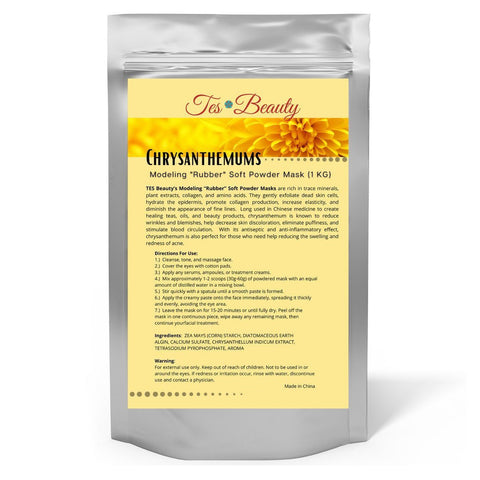 "Chrysanthemum Modeling ""Rubber"" Soft Powder Mask (1 KG) SKIN CARE HUINI"