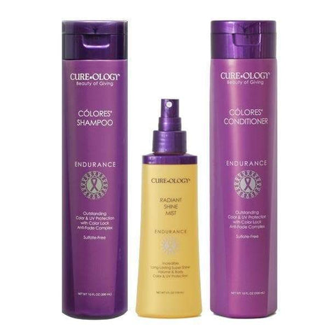 Colores Gift Set SHAMPOO AND CONDITIONER CUREOLOGY BEAUTY