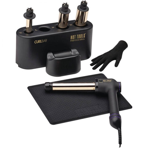 CURLBAR™ SET- 24K GOLD | HTCURLSET | HOT TOOLS | SHSalons.com