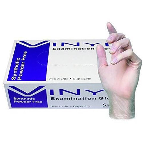Disposable Gloves | Vinyl Exam Glove | SKINTX | SHSalons.com