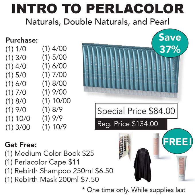 Intro to Perlacolor HAIR COLOR OYSTER