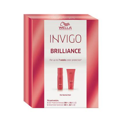 INVIGO Brilliance Holiday Duo for Normal Hair SHAMPOO & CONDITIONER SETS WELLA PROFESSIONAL