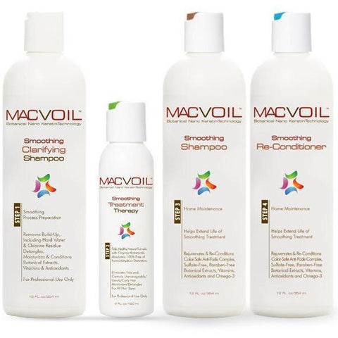 Macvoil Organic Keratin Smoothing Therapy Package HAIR PERMANENTS & STRAIGHTENERS MACVOIL Small