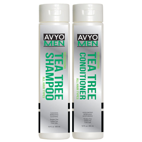 Men Tea Tree Shampoo and Conditioner Set | AVYO | AVYO | SHSalons.com