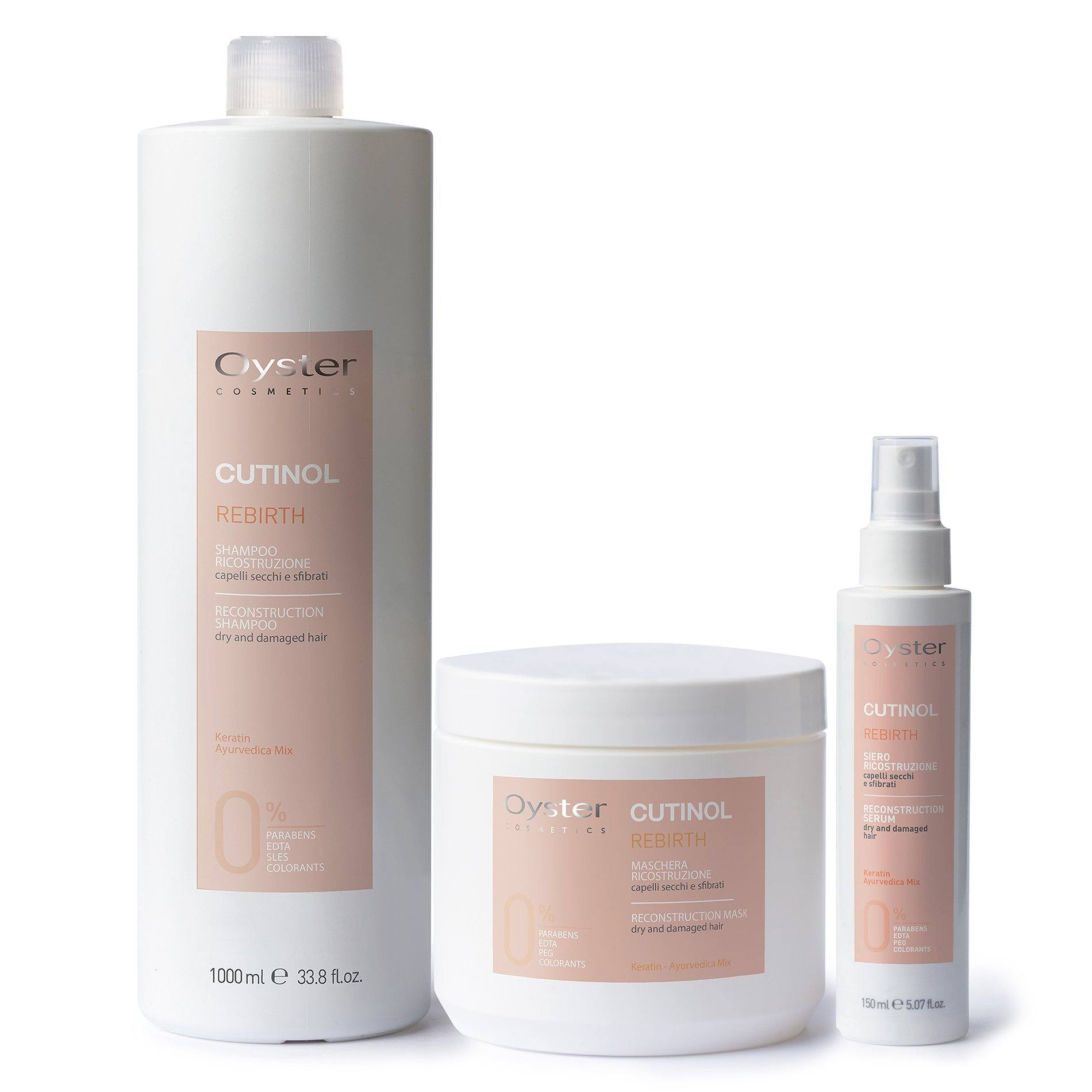 Repair Rebirth Set SHAMPOO AND CONDITIONER OYSTER
