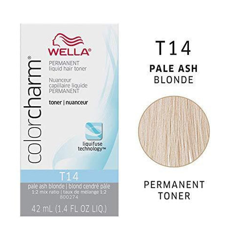 T14 Pale Ash Blonde | 1.4 oz / 42ml HAIR COLOR WELLA PROFESSIONAL