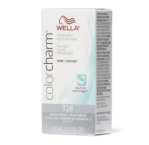 T28 Natural Blonde | 1.4 oz / 42ml HAIR COLOR WELLA PROFESSIONAL