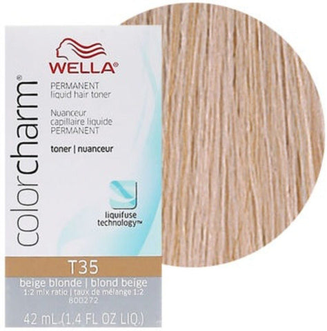 T35 Beige Blonde | 1.4 oz / 42ml HAIR COLOR WELLA PROFESSIONAL