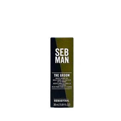 The Groom, Men's Hair & Beard Oil | SEB MAN SHAVING & GROOMING SEBASTIAN 1.01OZ