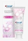 <Bundle Offer> Crest 3D White Whitestrips Sensitive (Gentle Routine) Teeth Whitening Kit & Whitening Therapy Sensitivity Care Toothpaste