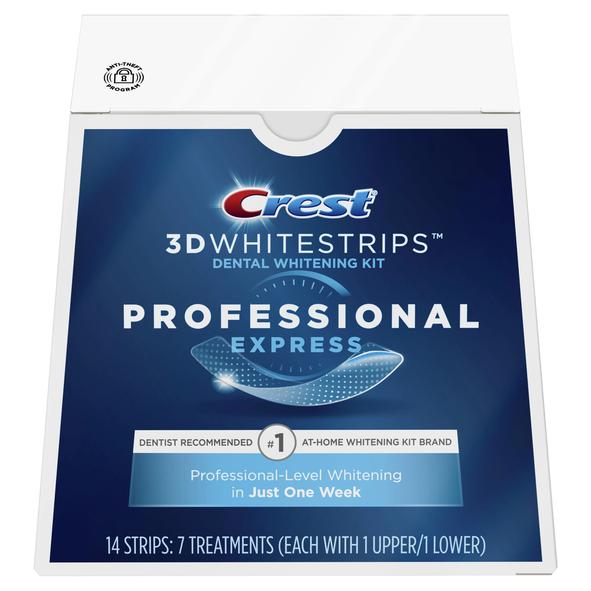 Kit de blanchiment des dents Crest 3D Whitestrips Professional Express