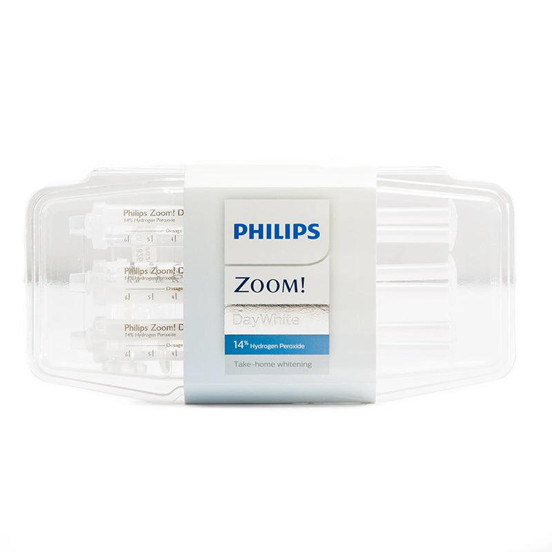 Philips Zoom Day White 14% HP Blanchiment des dents Traitement à domicile (Peroxyde d'hydrogène + ACP)
