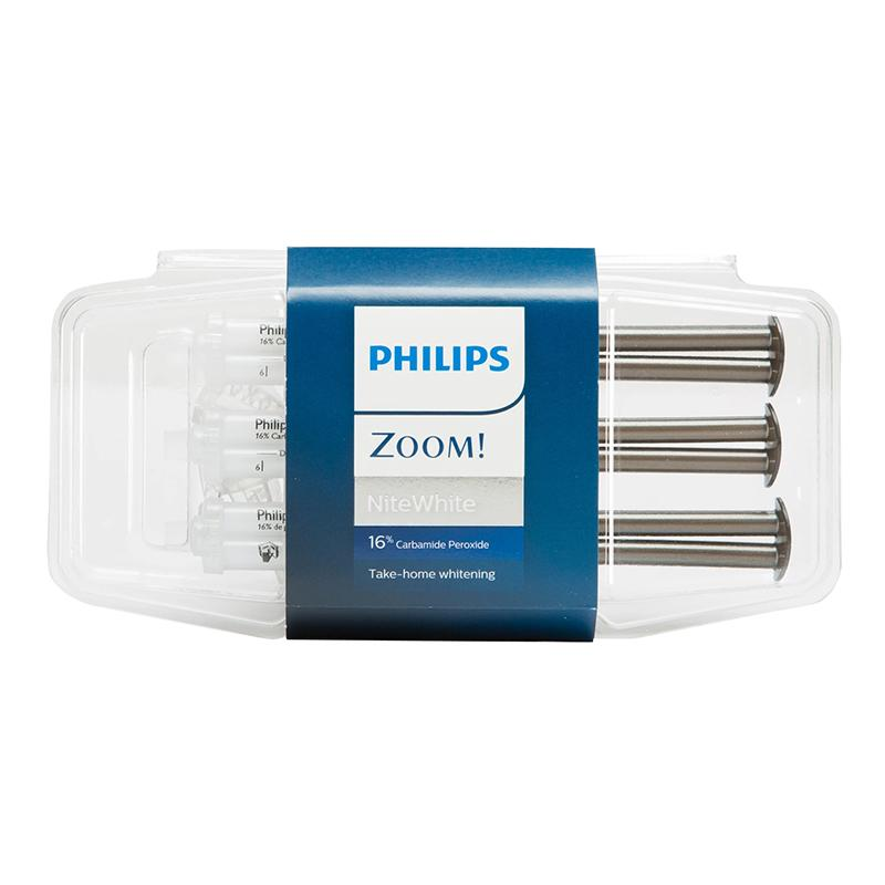 ☆Bundle☆ Philips Zoom Day White 9.5% HP Teeth Whitening Gel Take Home Treatment (Hydrogen Peroxide + ACP) & Nite White 16% CP Teeth Whitening Gel Take Home Treatment (Carbamide Peroxide + ACP)