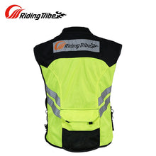 Load image into Gallery viewer, Riding Tribe Motorcycle Reflective Vest