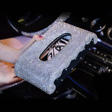 Load image into Gallery viewer, Luxury Crystal Rhinestones Car Seat Interior Decoration