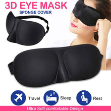 Load image into Gallery viewer, 3D Sleeping Mask For Sleep Earplugs