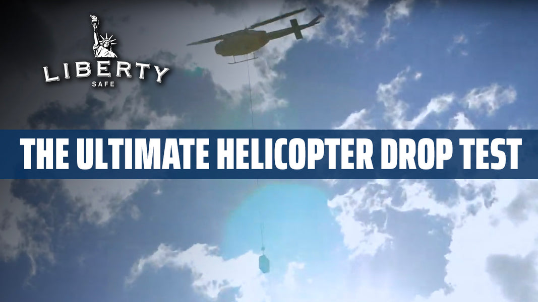 500' Helicopter Drop Test, Plus Explosives by Liberty Safe