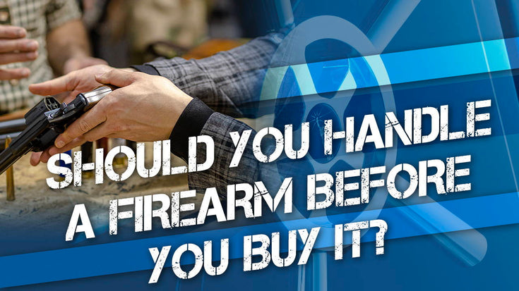 Handle a Firearm Before You Buy