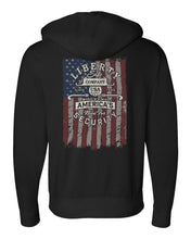 Load image into Gallery viewer, Liberty Accessory Heavyweight Full Zip Hooded Sweatshirt (Men) Apparel