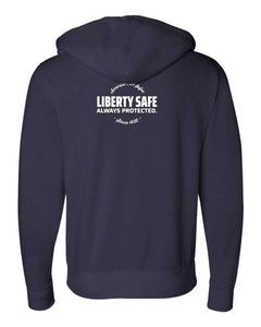 Liberty Accessory Premium Heavyweight Cross Grain Hoodie (Men) Apparel