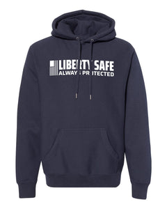 Liberty Accessory Premium Heavyweight Cross Grain Hoodie (Men) Small Apparel
