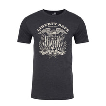 Load image into Gallery viewer, Liberty Accessory Liberty Eagle Charcoal T-Shirt Medium Apparel