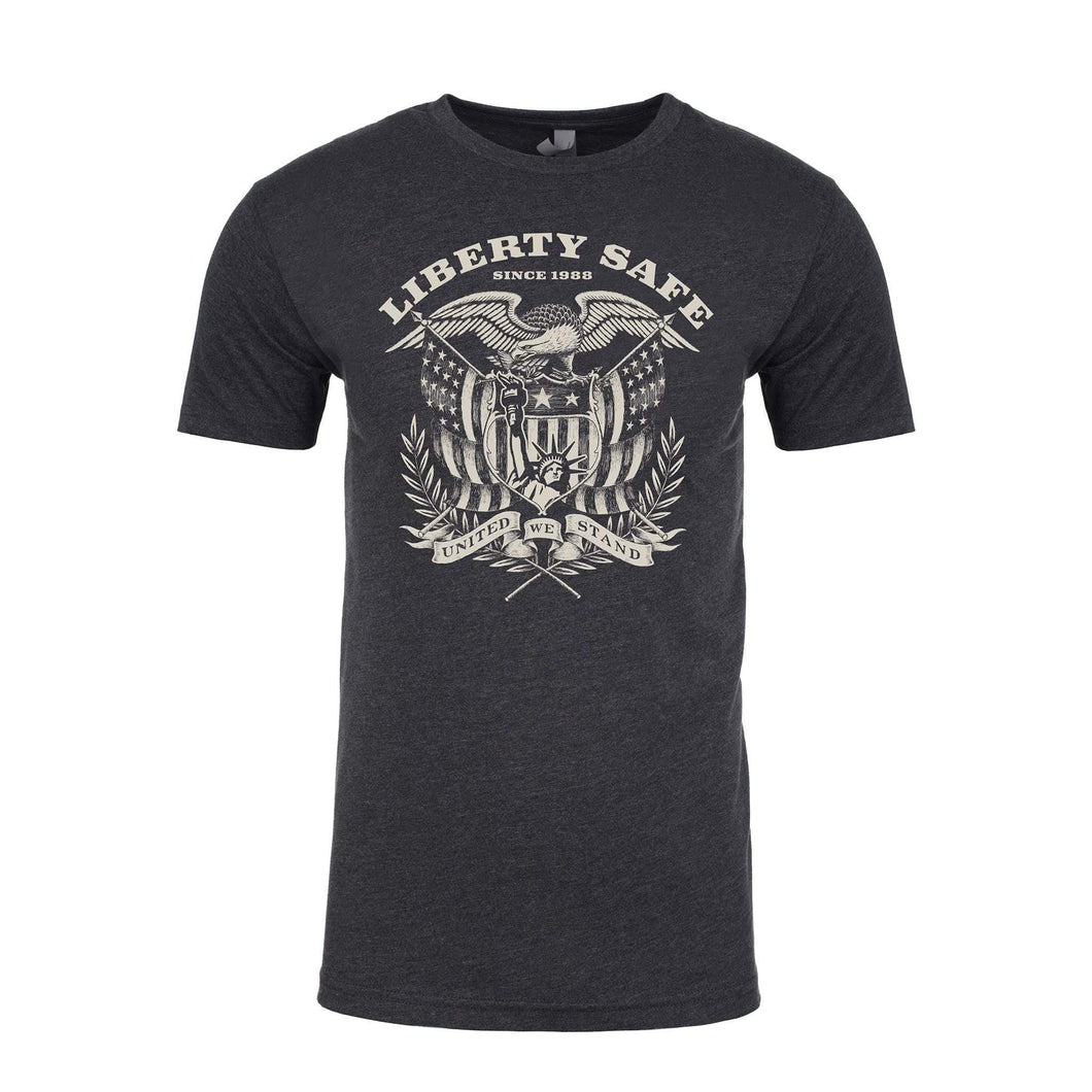 Liberty Eagle Charcoal T-Shirt Front