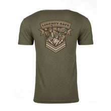 Load image into Gallery viewer, Liberty Accessory Military Green Shirt Apparel