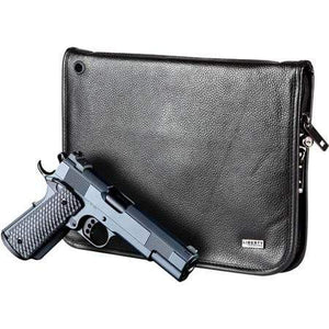 Liberty Accessory Magnetic Handgun Cases Full Size Magnetic Handgun Case (Leather) (9 x 12) Accessory