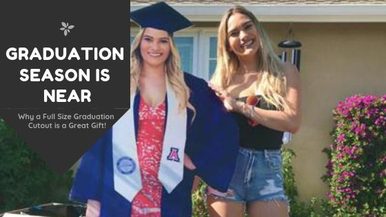 Why a Full-Sized Graduation Cutout is the Best Graduation Gift