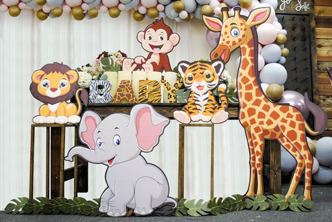 Featured Baby Shower Cutouts and Props