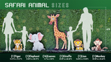 Sizes of Animal Cardboard Cutouts