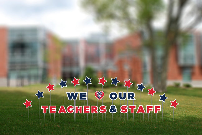 Teachers Appreciation Week 2021 Yard Sign