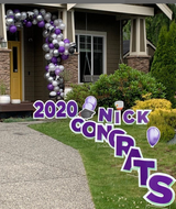 2021 Graduation Yard Sign | Personalized Lawn Sign