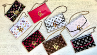 Personalized Designer Chocolate Purse Wrap Favor