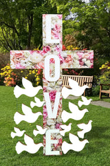 Large Cross Prop, Religious prop, large religious prop cutout, cemetery decor