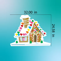 GingerBread Christmas house Yard Sign