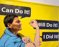 I Can Do It! Backdrop