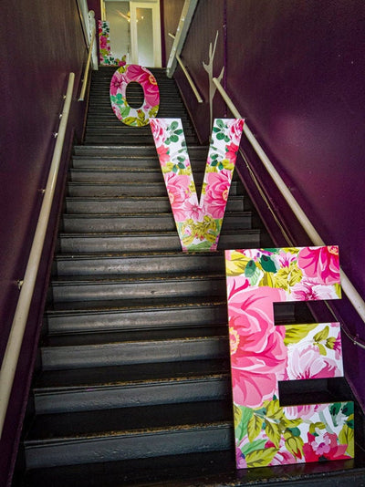 Large LOVE Letter Cutouts