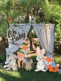 Woodland Baby Shower Decor Kit