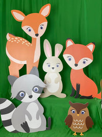 Baby Shower Animals Cutouts