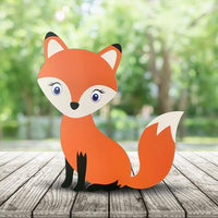 Cute Fox Baby Shower Prop