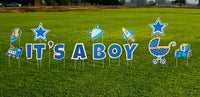 It's a Boy Baby Shower Yard Sign