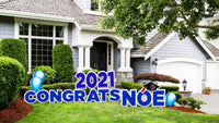 2021 Graduation Yard Sign