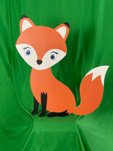 Standee Fox cutout