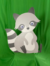 Baby Raccoon Cutout